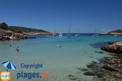 Portinatx à Ibiza