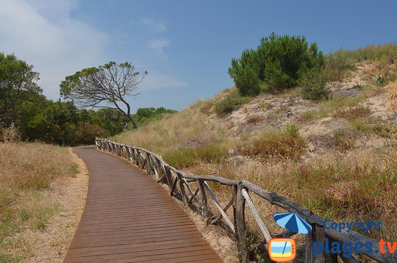 Promenade entre Sant Marti et l'Escala - Espagne