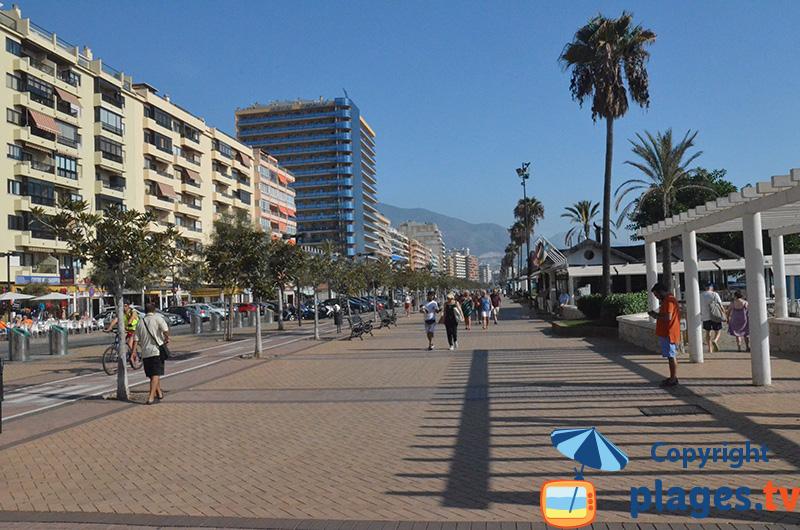Promenade piétonne de Fuengirola