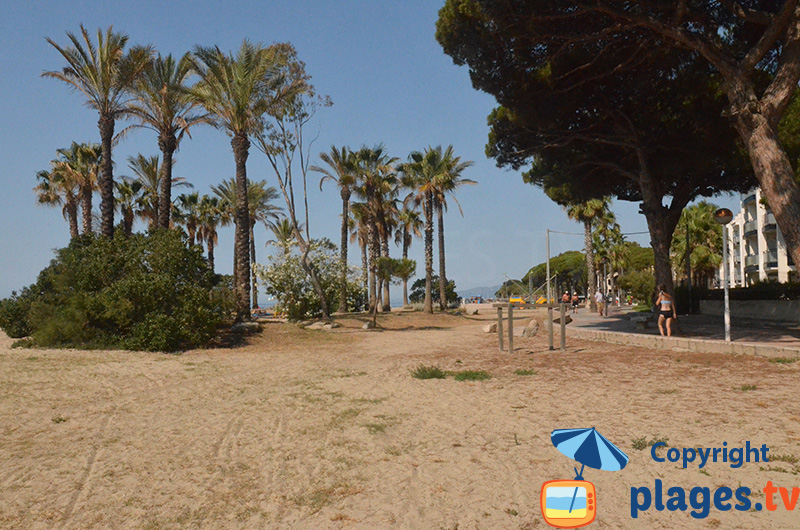 Promenade piétonne de Cambrils - Vilafortuny