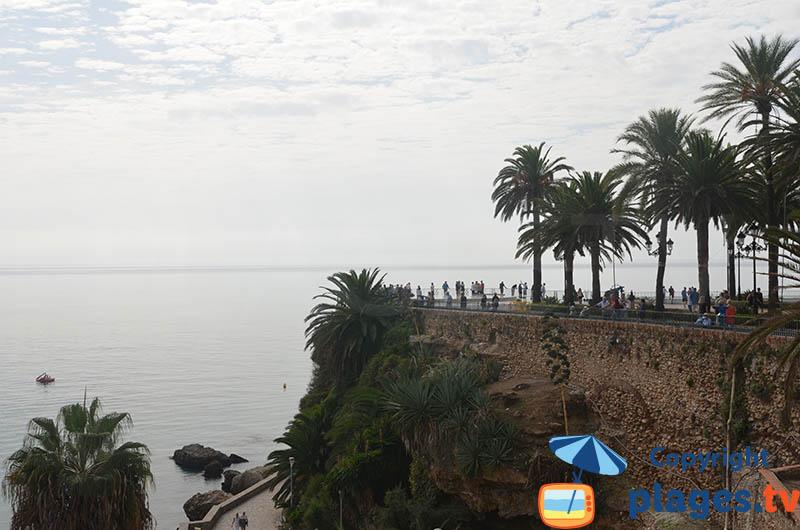 Promontoire du Balcon de l'Europe de Nerja - Andalousie