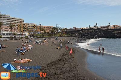 Puerto de Santiago et sa plage - Tenerife