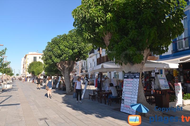 Quai du port d'Ibiza