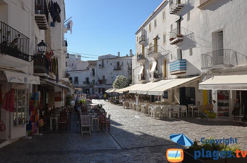 Place de la Vila à Ibiza
