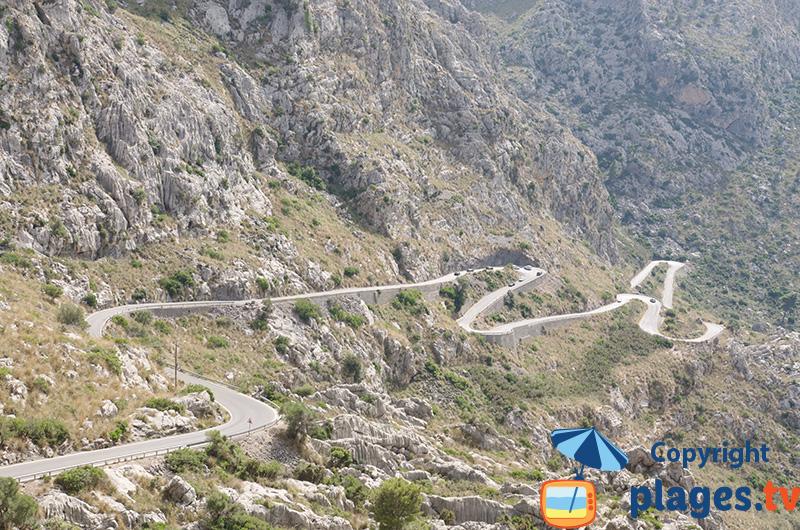 Route de Sa Calobra à Majorque