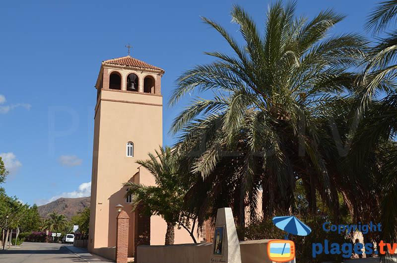 église de Rodalquilar en Andalousie