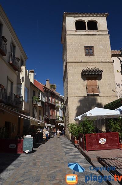 Ruelle dans la vieille ville de Malaga