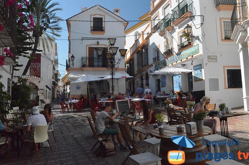 Ruelle dans la vieille ville de Marbella