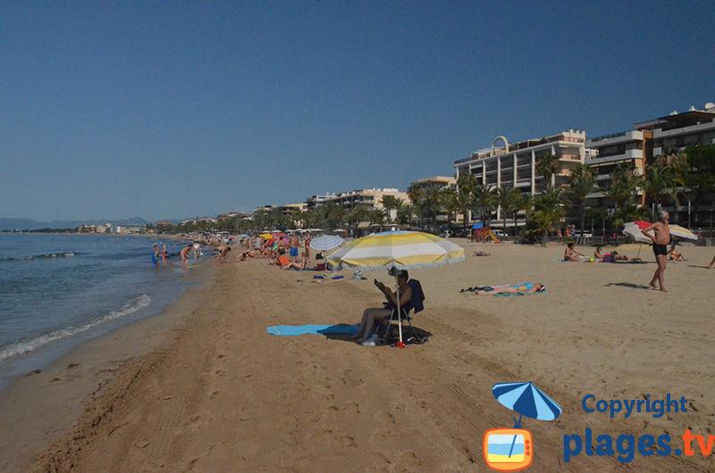 Salou et la plage du Ponent - Espagne