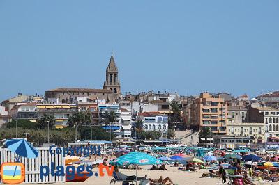Sant Antoni de Calonge en Espagne sur la Costa Brava