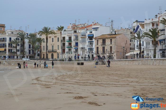 Quartier de Sant Sebastia à Sitges