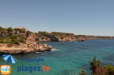 Falaises de Santanyi à Majorque