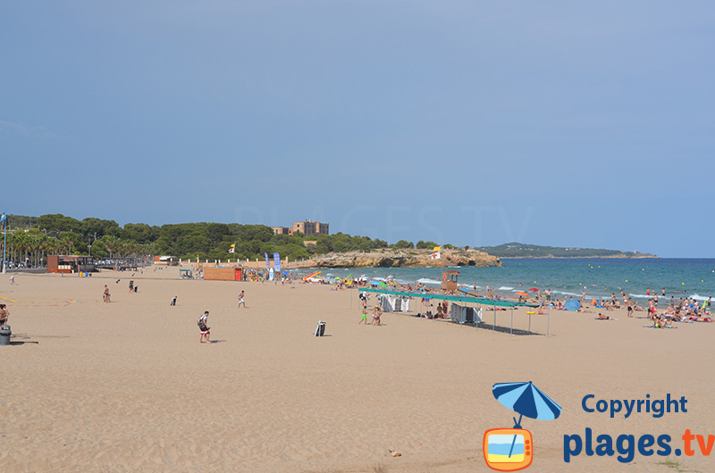 Belle plage à Tarragone - Arrabassada
