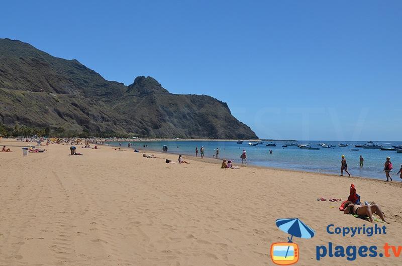 Tenerife - la belle plage de San Andres
