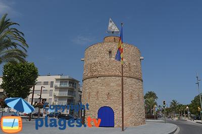 Tour de défense à Vilanova en Espagne