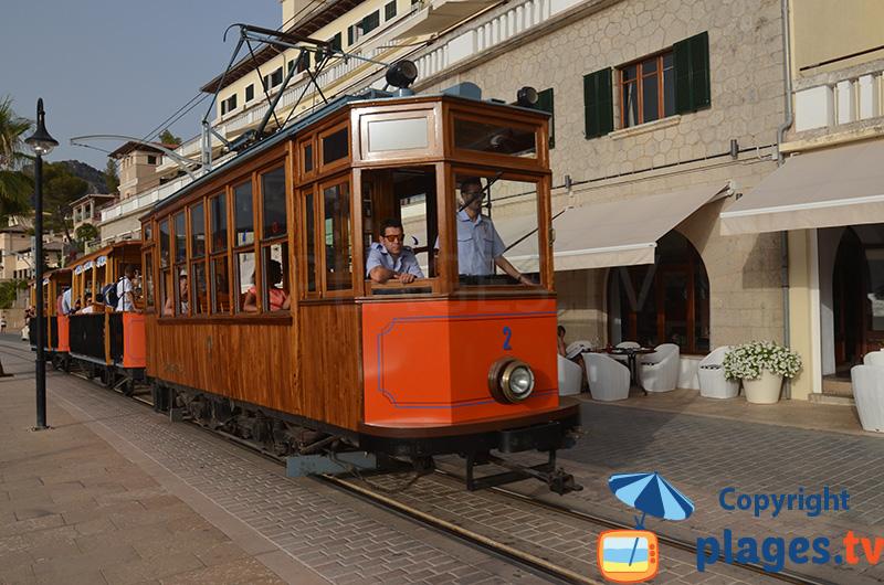 Tram de Port Soller au Baléares