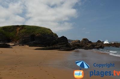 Verdicio en Espagne - plage de sable