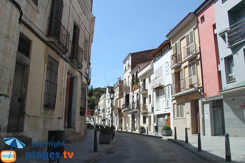 Vieille ville d'Arenys de Mar