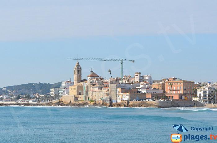 Vieille ville de Sitges