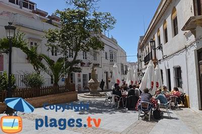 Vieille ville de Tarifa en Espagne