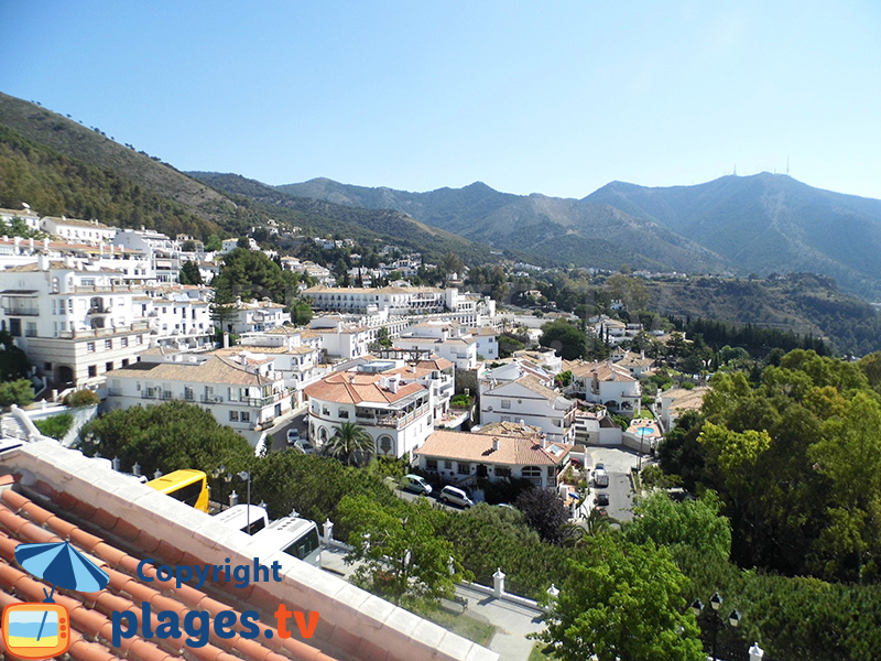 Village de Mijas en Andalousie