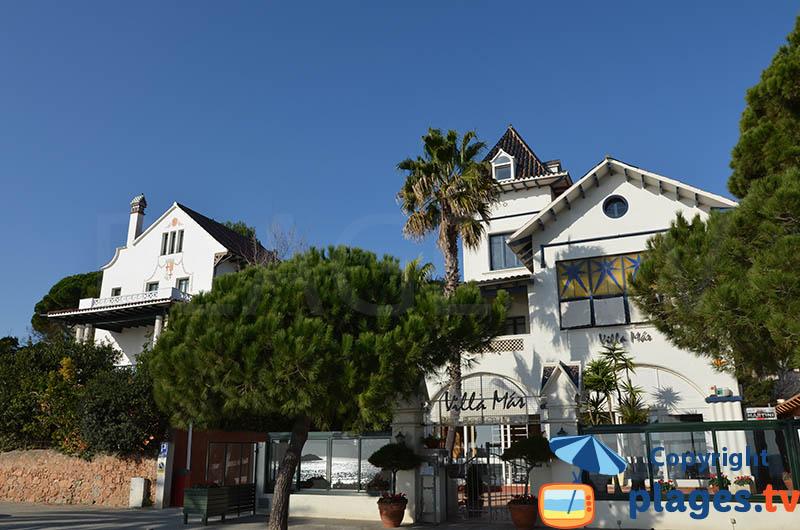 Villas de la Belle Epoque à Sant Feliu de Guixols dans le quartier Sant Pol