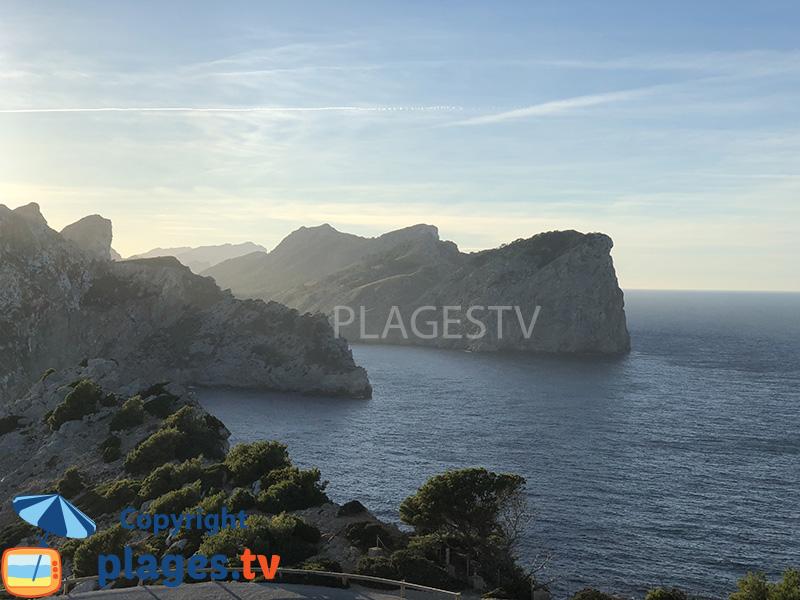 Falaises du nord-ouest de Majorque