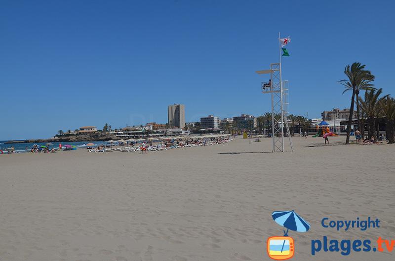 Javea - une agréable plage de sable