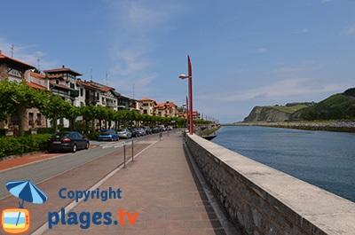 Zumaia en Espagne - Pays Basque
