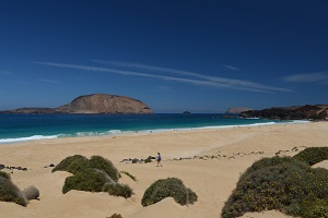 Las Conchas beach - Island Graciosa