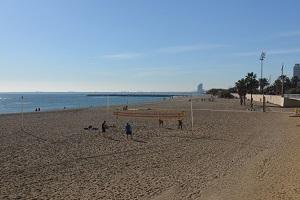 Plage de Mar Bella - Barcelone