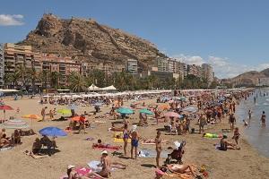 Plage de Postiguet - Alicante