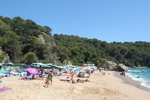 Beaches in Lloret de Mar