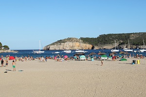 Beaches in L'Escala