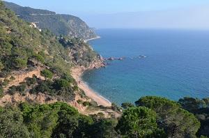 Beaches in Sant Feliu de Guíxols
