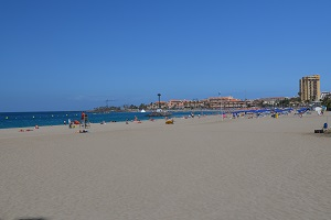 Beaches in Los Cristianos