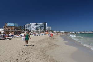 Beaches in Platja d'en Bossa