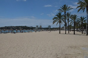 Beaches in Magaluf