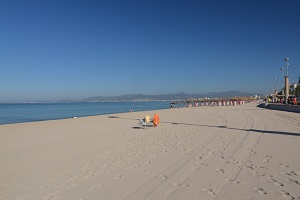 Beaches in Palma de Majorque