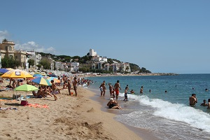 Plages Sant Pol de Mar