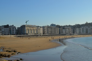 Beaches in San Sebastian