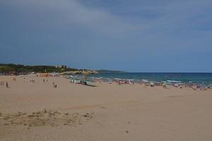Beaches in Tarragone