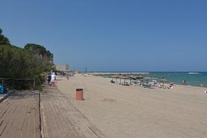 Beaches in Sant Martí d'Empúries